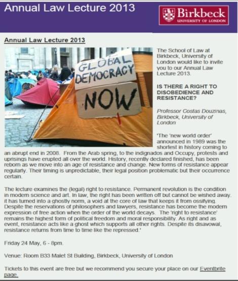 annual law lecture